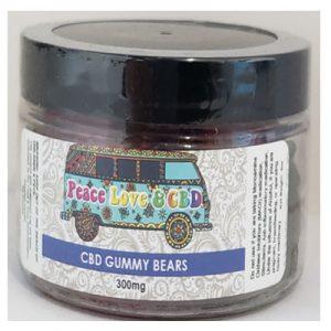 CBD Gummy Bears 20 ct 300mg